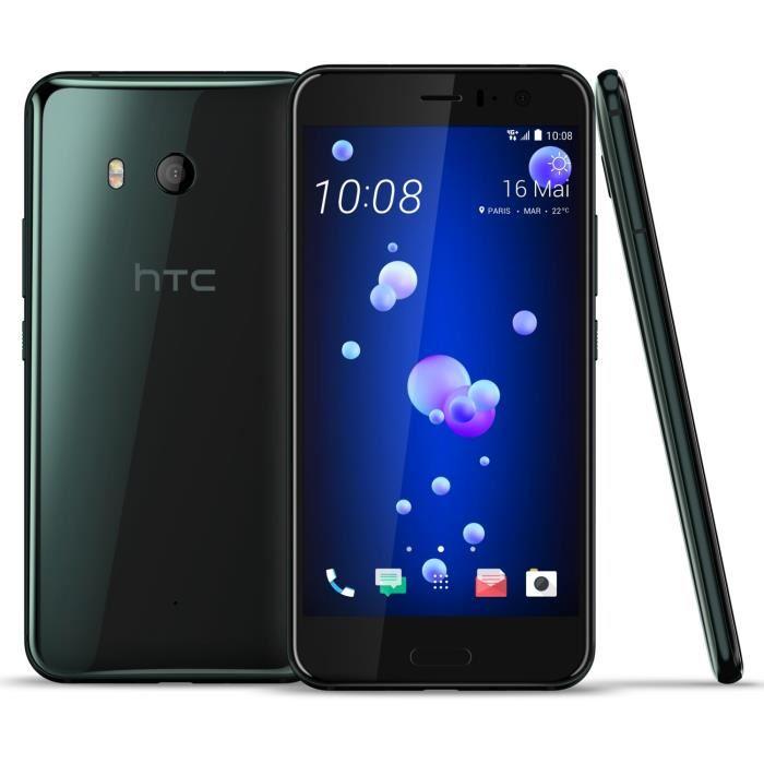 """Smartphone 5.5"""" HTC U11 - SnapDragon 835, 4 Go de RAM, 64 Go (Via ODR de 50€)"""