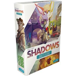 Sélection de jeux de sociétés en réduction - Ex: Shadow Amsterdam (le-passe-temps.com)