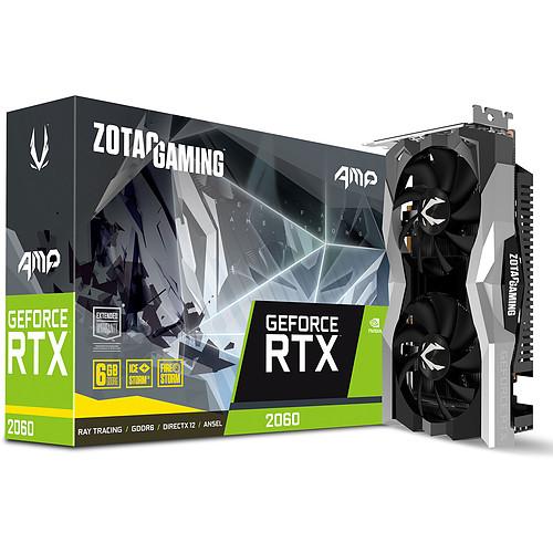 Carte Graphique Zotac GeForce RTX 2060 AMP (386.95€ avec le code CADOW)