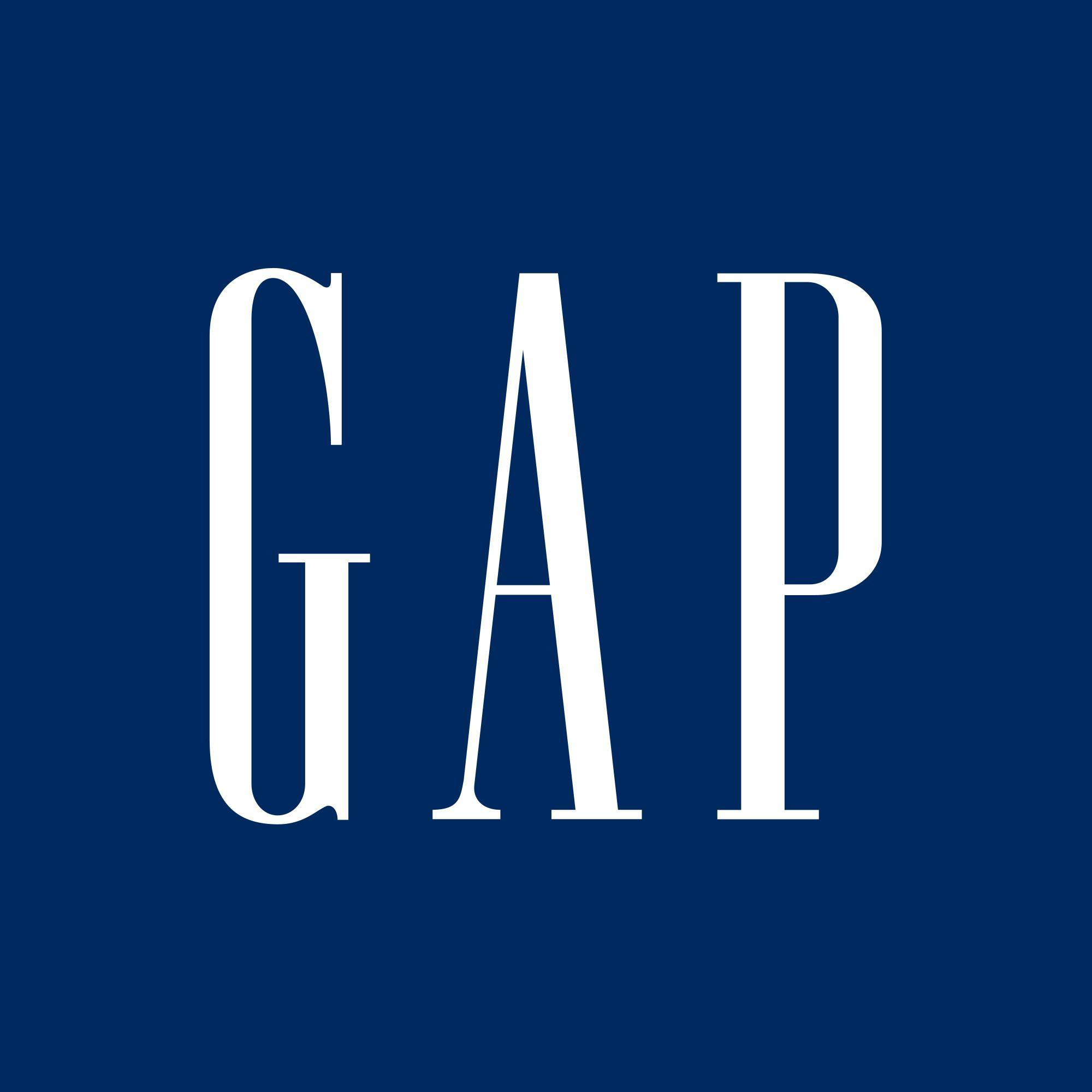 50% de réduction sur le 2ème article Logo Gap acheté