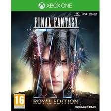 Final Fantasy 15 Edition Royale sur Xbox One (via application)