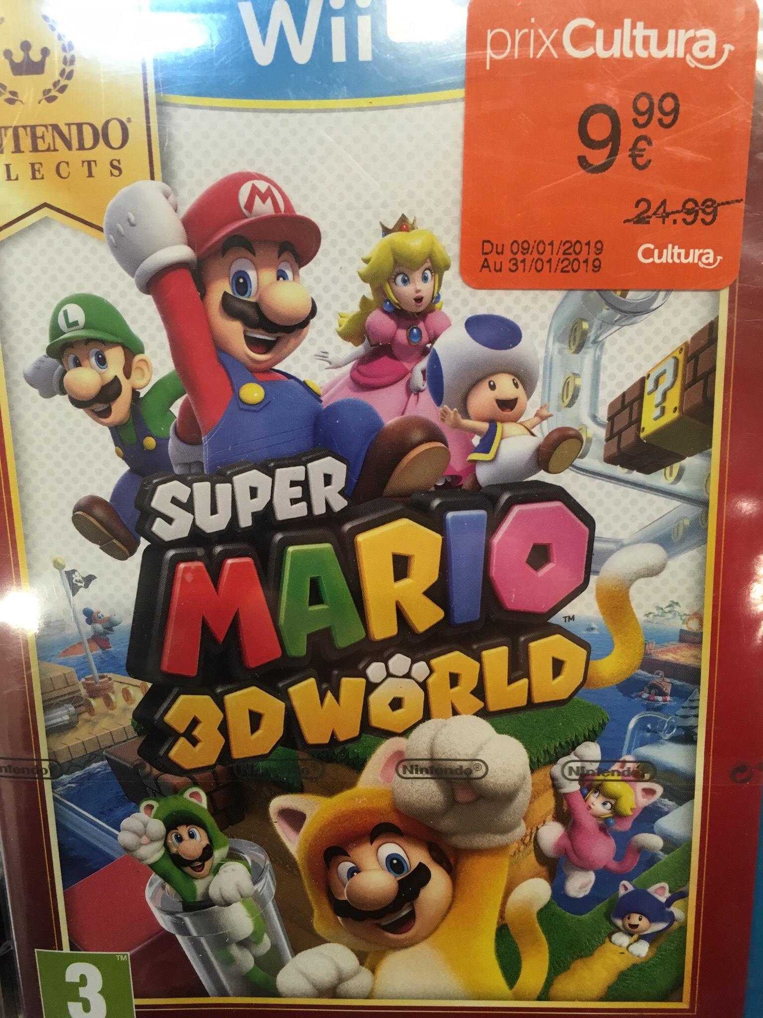 Super Mario 3D World sur Wii U -  Le Vieil-Évreux (27)