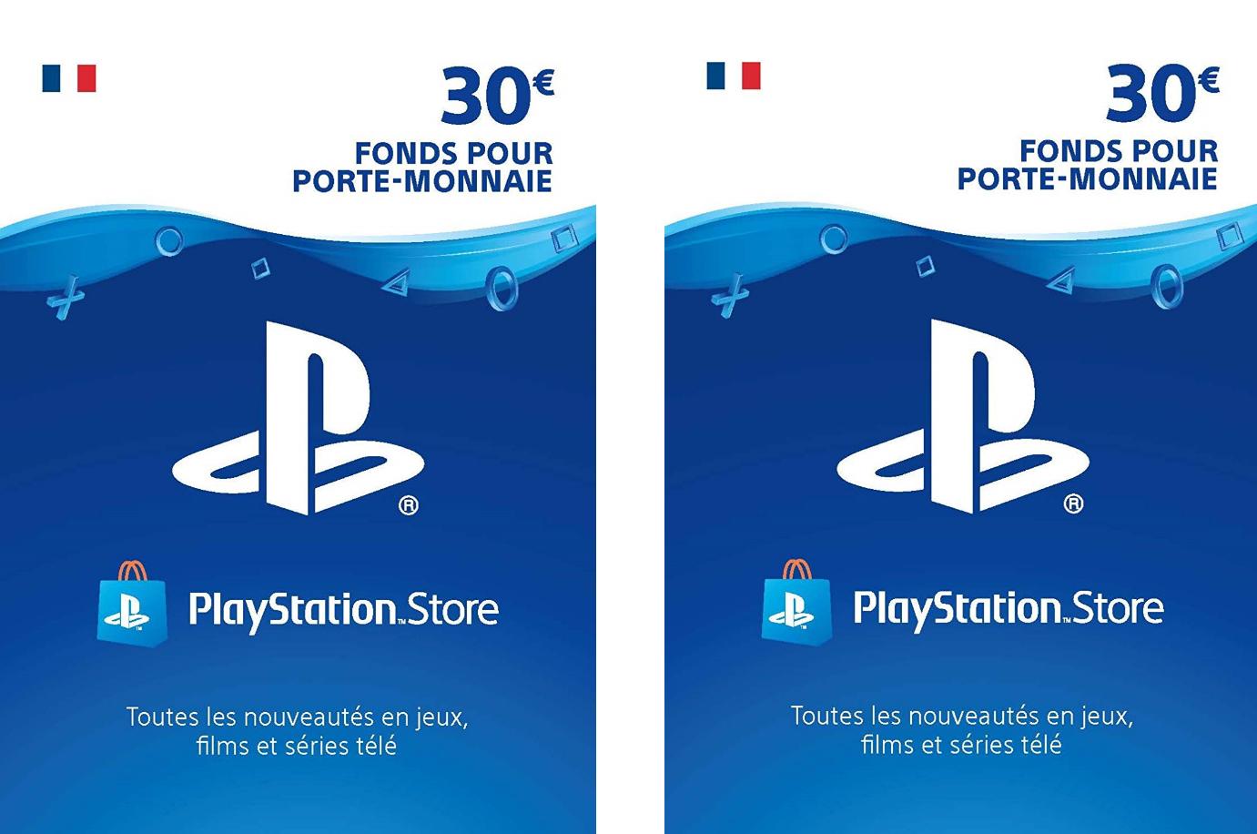 60€ de crédit Playstation Network France pour 25€ (Dématérialisé)
