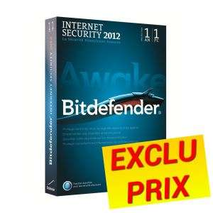 Bitdefender Internet Security 2012 - 1An / 1poste