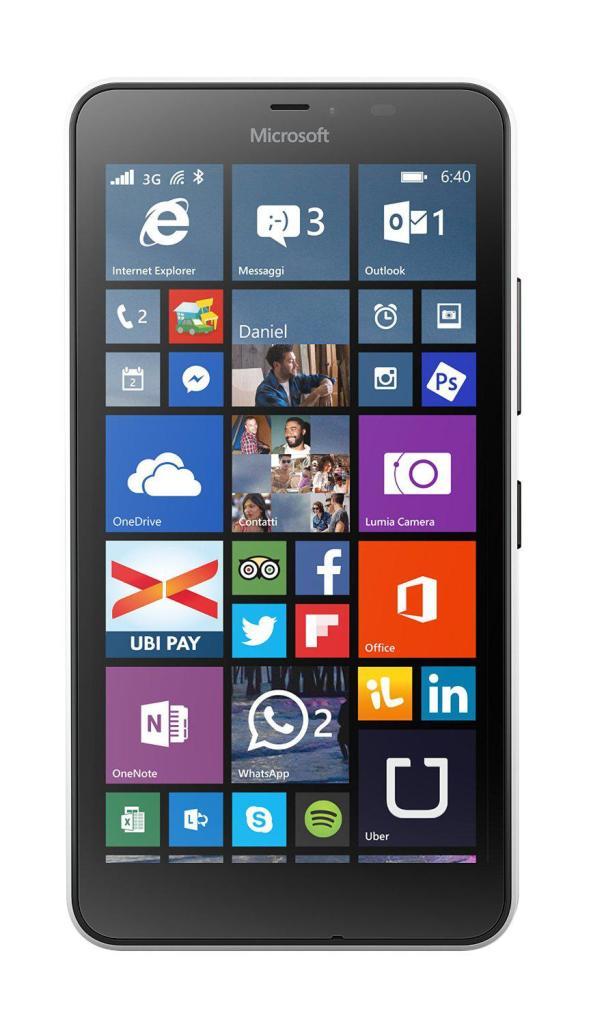 "Smartphone 5.7"" Microsoft Lumia 640 XL 8 Go - Blanc"