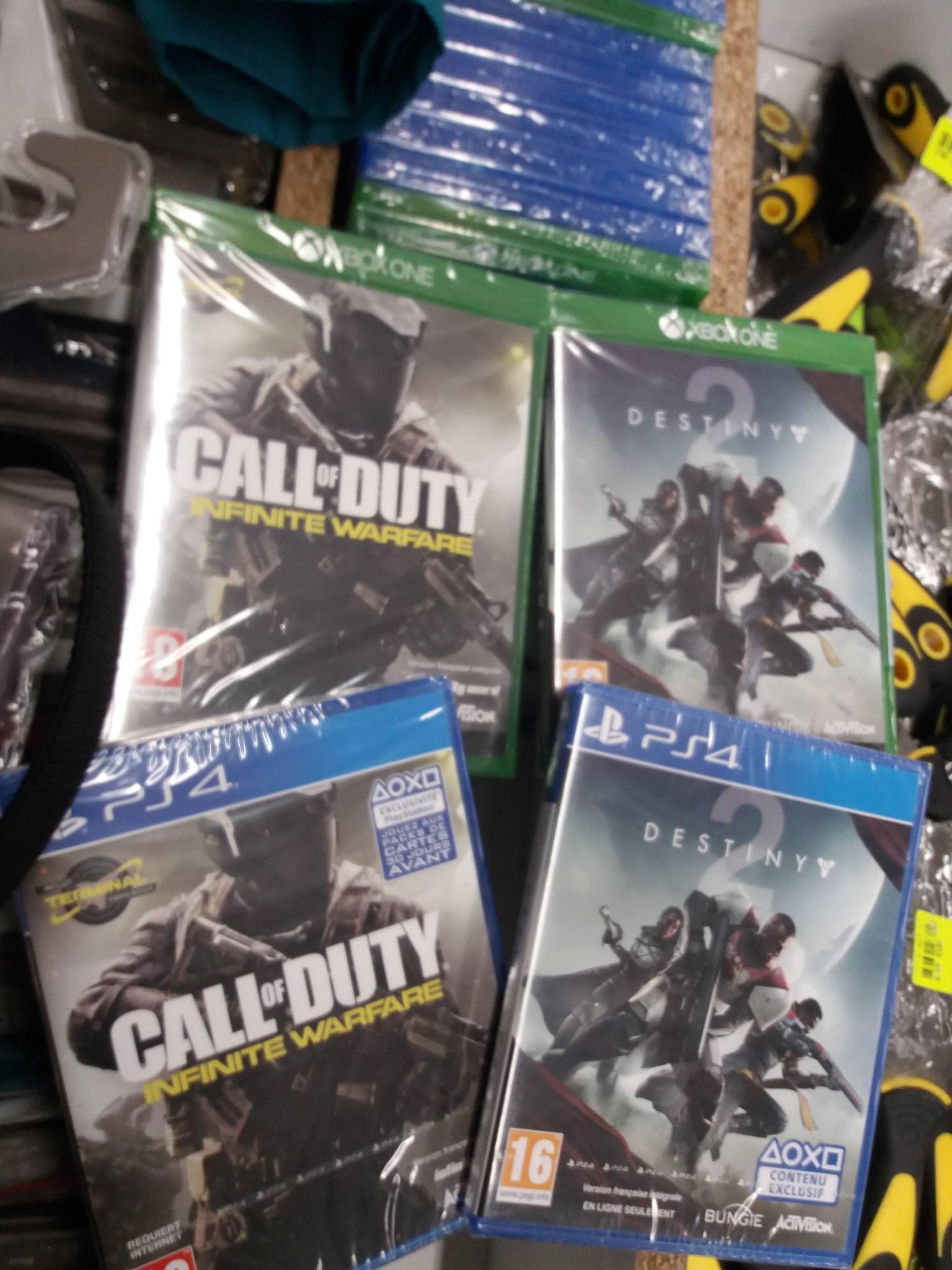 Sélection de Jeux PS4 et Xbox One en promotion - Ex :  Call of Duty : Infinite Warfare - Marsannay  (21)