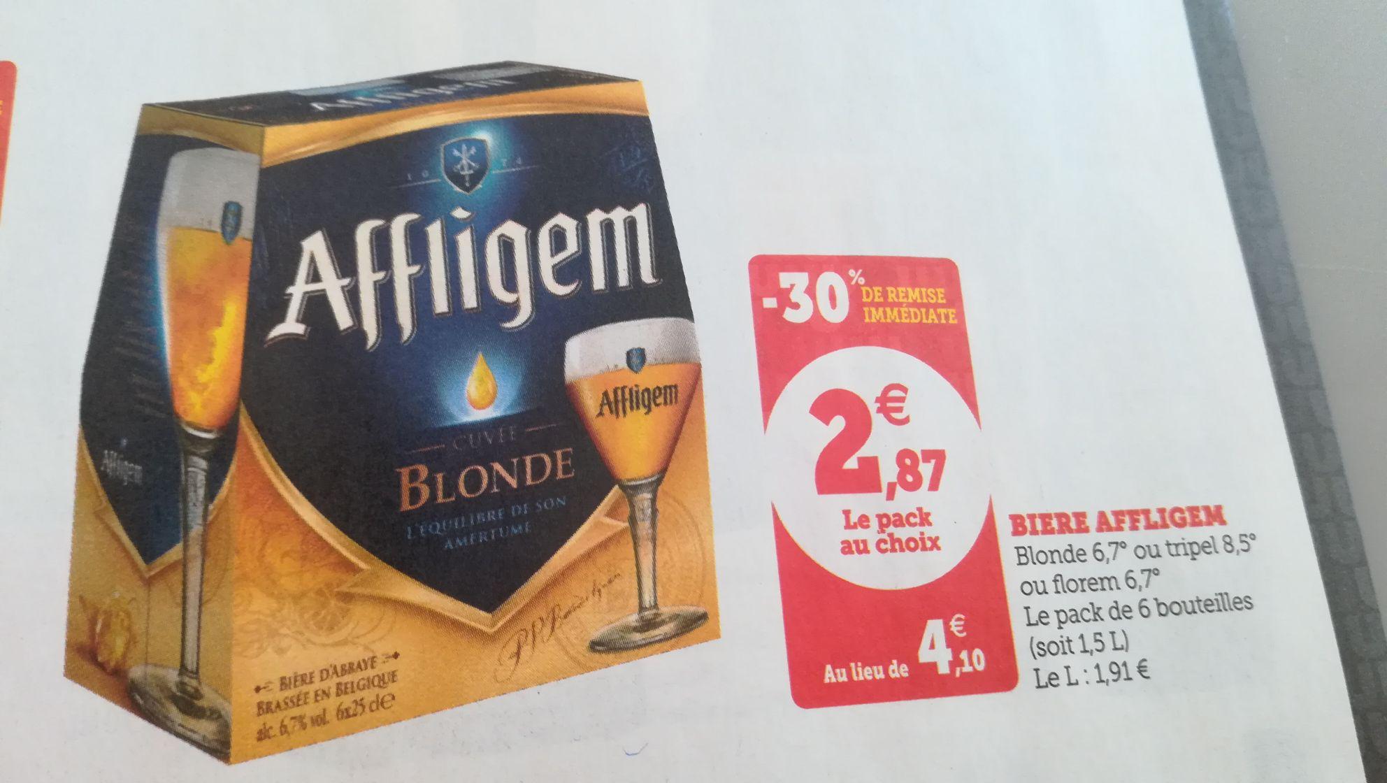 Pack de 6 bières Affligem - différents types (6x25 cl) - La Rochelle (17)