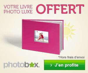 """1 Livre Photo """"Luxe"""" 26 pages gratuit pour 6€ ou 3 livres luxe pour 8€"""