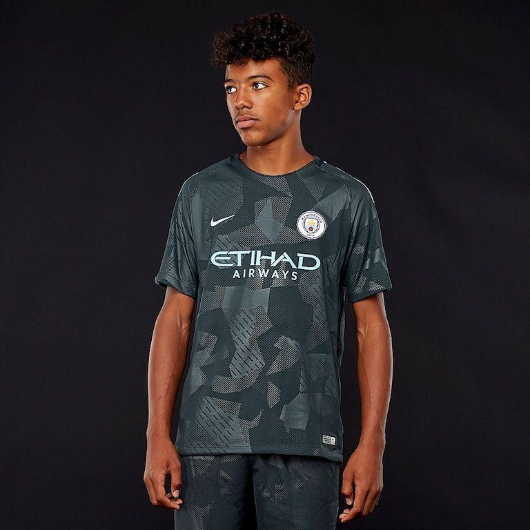 Maillot Manchester City 17/18 pour enfants (7-8ans)