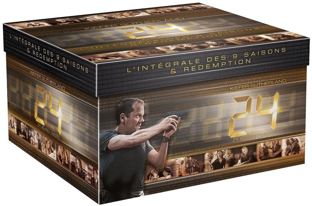 Coffret DVD: 24 heures chrono - L'intégrale des 9 saisons + Redemption