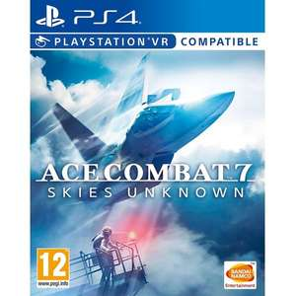 Jeu Ace Combat 7: Skies Unknown sur PS4 (compatible Playstation VR)