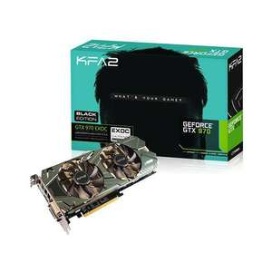 Carte graphique KFA2 GeForce GTX 970 EXOC Black Edition 4GB + Metal Gear Solid V