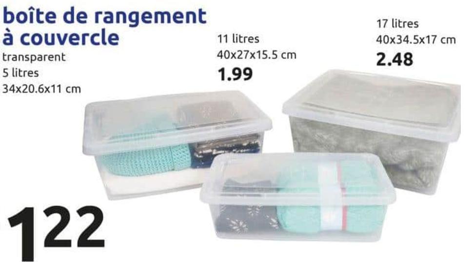 Boîte de rangement Iris - 5L