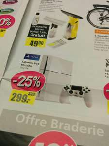 Console Sony PS4 - 500 Go  blanche en magasin