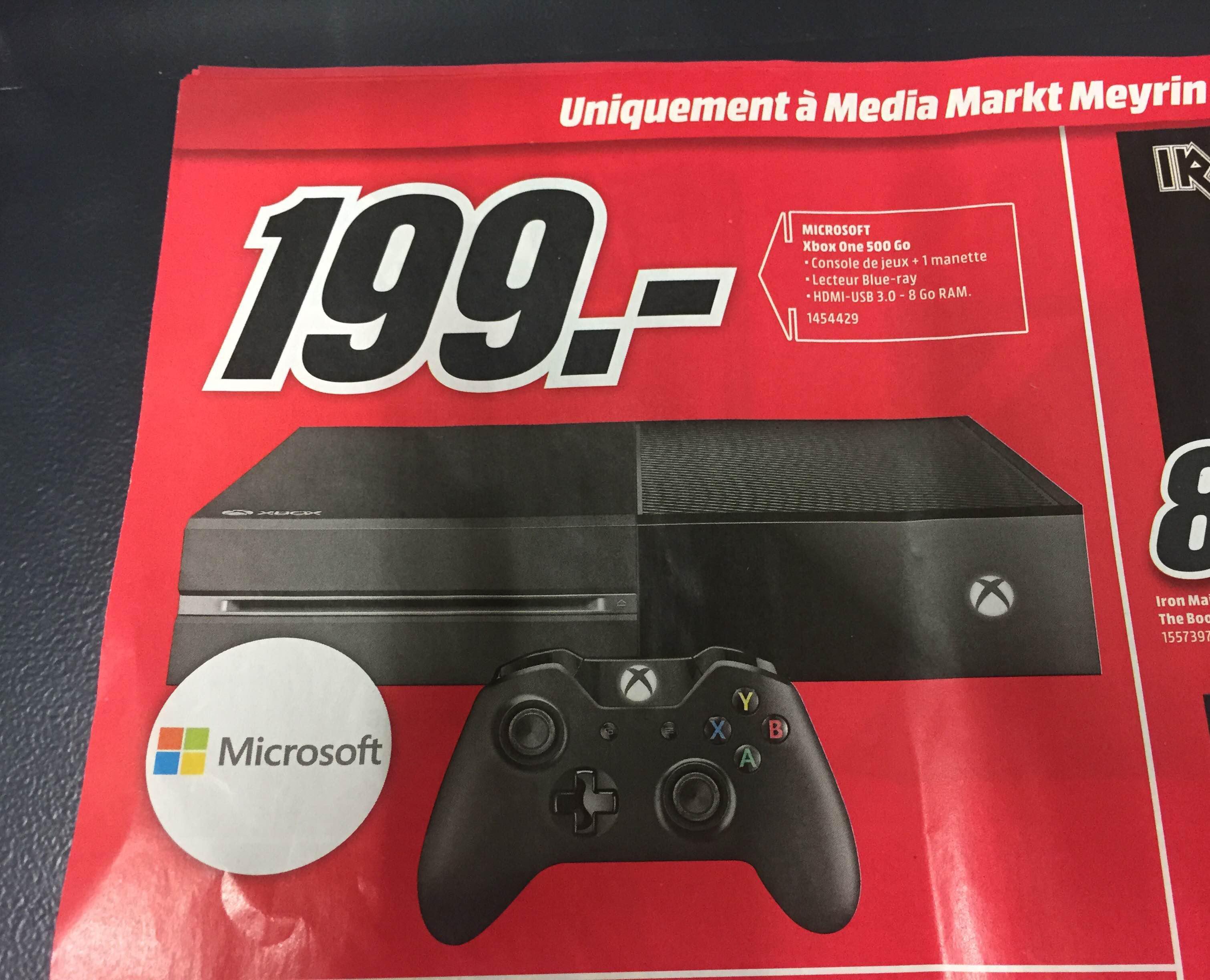 Console Microsoft Xbox One - 500Go