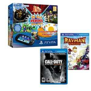 Pack Console Sony PS Vita Heroes  + 2 Jeux (Rayman Origin et Call of Duty : Black Ops Declassified)