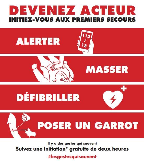 Initiations Gratuites aux Gestes de Premiers Secours - Nancy (54)