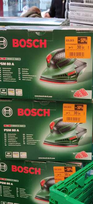 Ponceuse Bosch PSM 80W - Ennery (57)