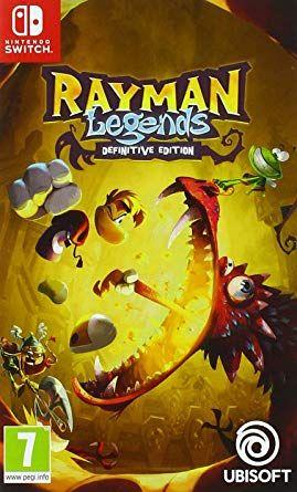Jeu Rayman Legends sur Nintendo Switch - Châtelet Les Halles (75)