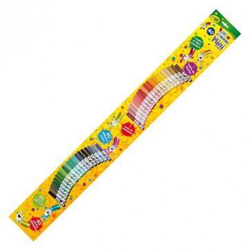 3 mètres de feutres Crayola (soit 120 feutres)