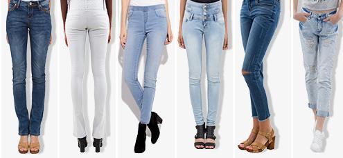 Un jean acheté = le deuxième à -50%