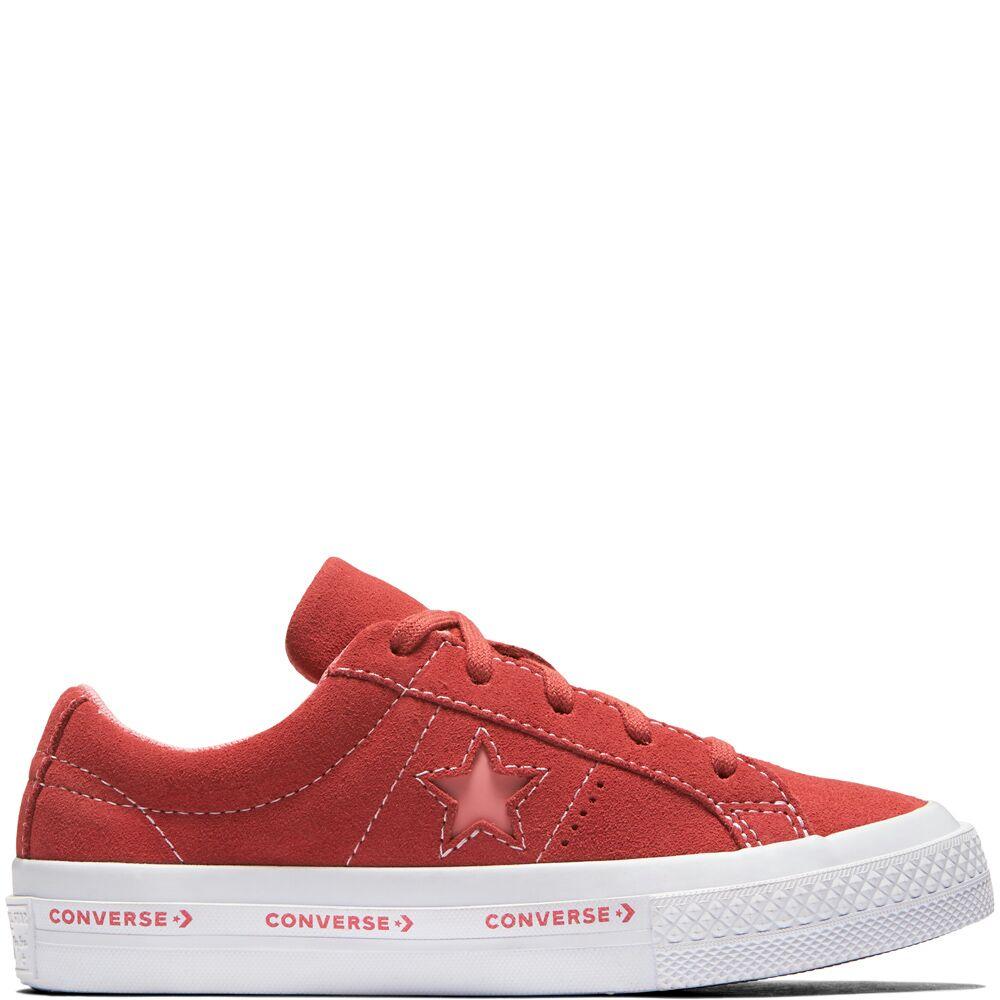 Chaussures Enfant One Star Suede Wordmark - Rouge et Taille au choix 9625dd287d7e