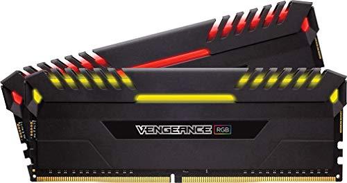 Kit Mémoire Corsair Vengeance RGB 16Go (2 x 8Go) - DDR4, 3200MHz, C16, XMP 2.0
