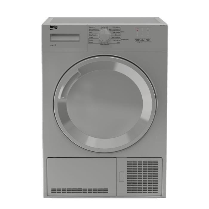 s che linge beko db7111pa0s 7 kg s chage condensation classe b. Black Bedroom Furniture Sets. Home Design Ideas
