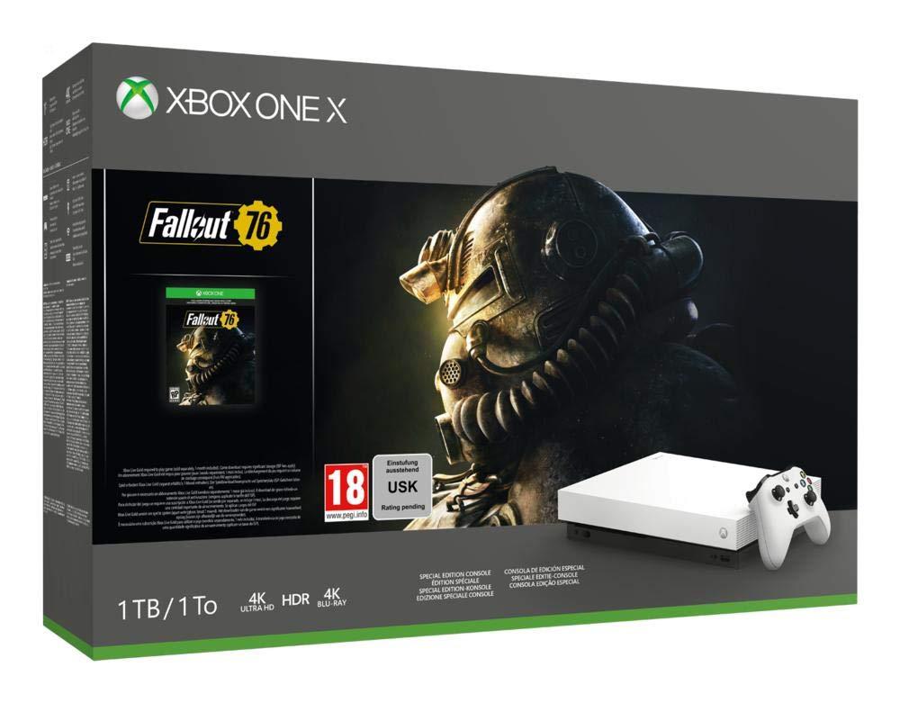 Console Microsoft Xbox One X 1 TB + Fallout 76