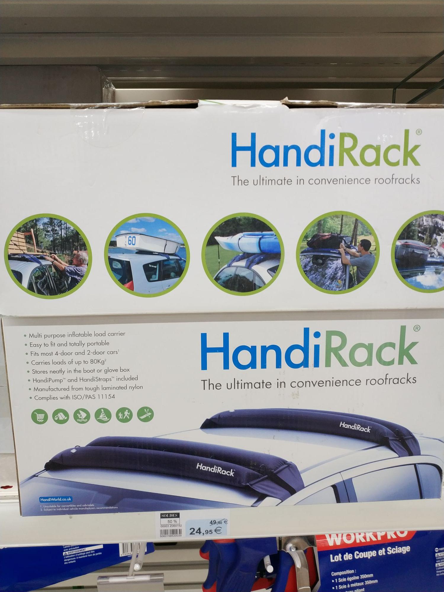 Barre de toit gonflable handirack handiworld - Hyper U Vitré (35)