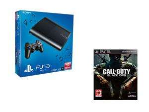 Console PS3 ultra slim noir 12Go + Call of duty black OPS