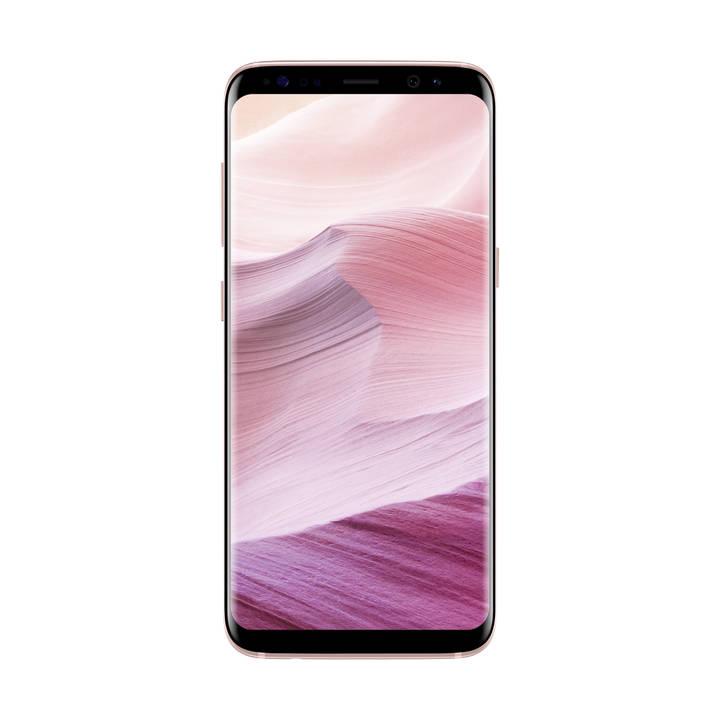 "Smartphone 5.8"" Samsung Galaxy S8 - Exynos 8895, 4 Go de RAM, 64 Go, rose (frontaliers Suisse)"