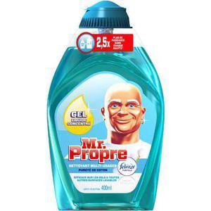 Gel nettoyant ménager Mr Propre concentré (via BDR)