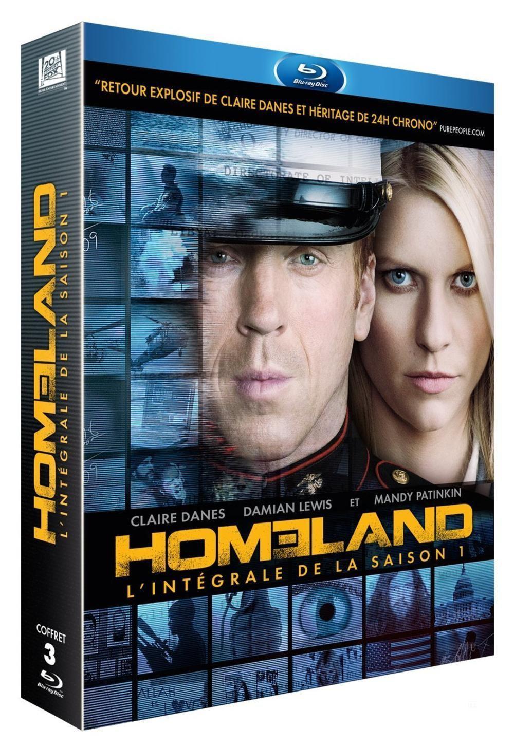 Blu-ray Homeland saison 1
