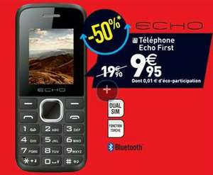 Téléphone portable double sim Bluetooth