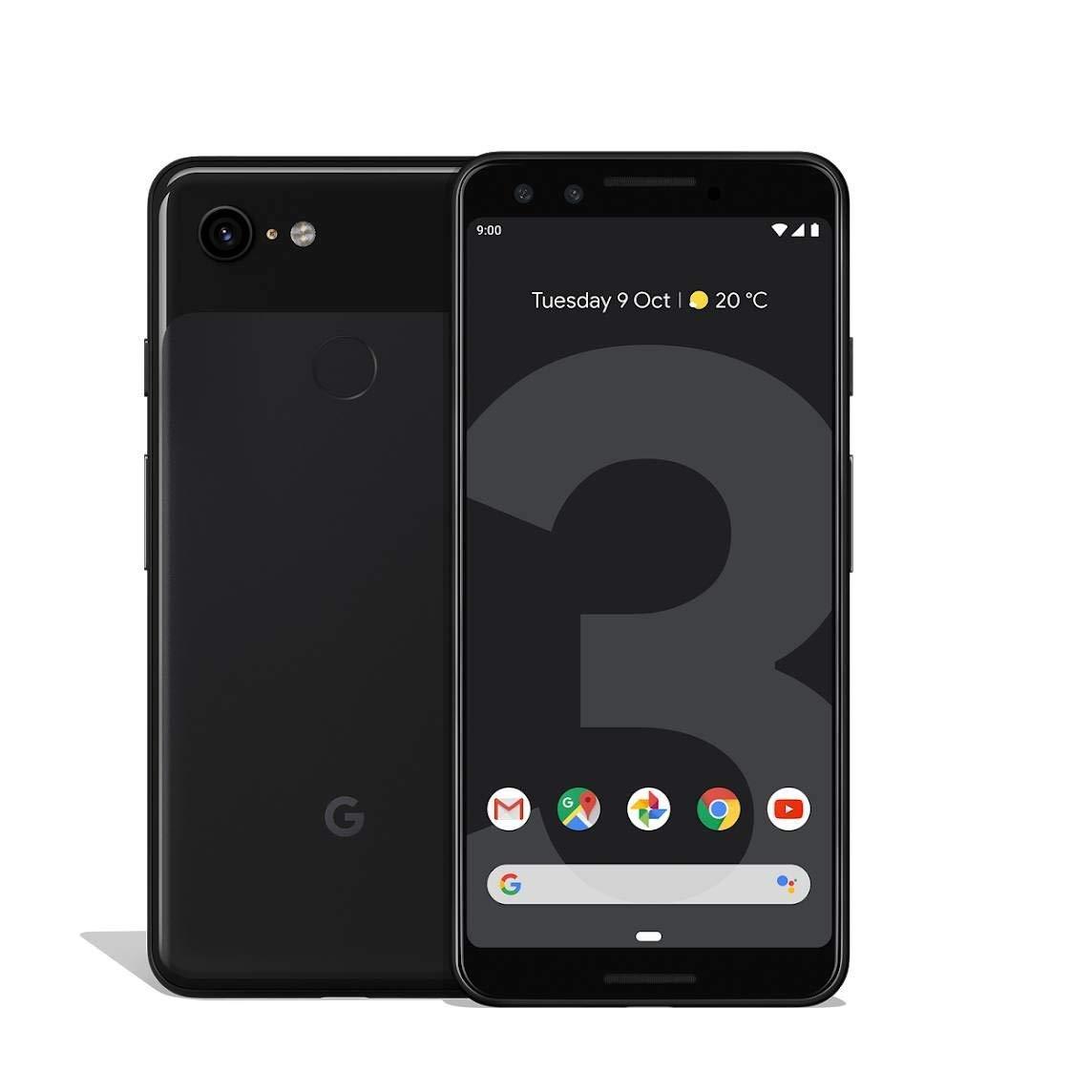 "Smartphone 5,5"" Google Pixel 3 - 64 Go (Plusieurs coloris)"