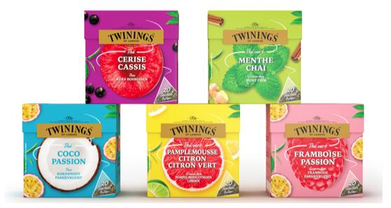 Thé vert Framboise Passion Twinings - 20 sachets (via 0.93€ sur la carte fidélité + BDR)