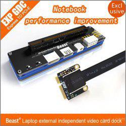 Adaptateur carte graphique sur pc portable eGPU EXP GDC Beast