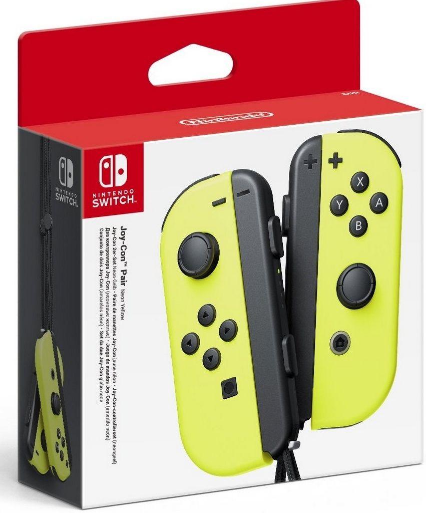 Paire de manettes pour Switch Nintendo Joy-Con - jaune (vendeur tiers)