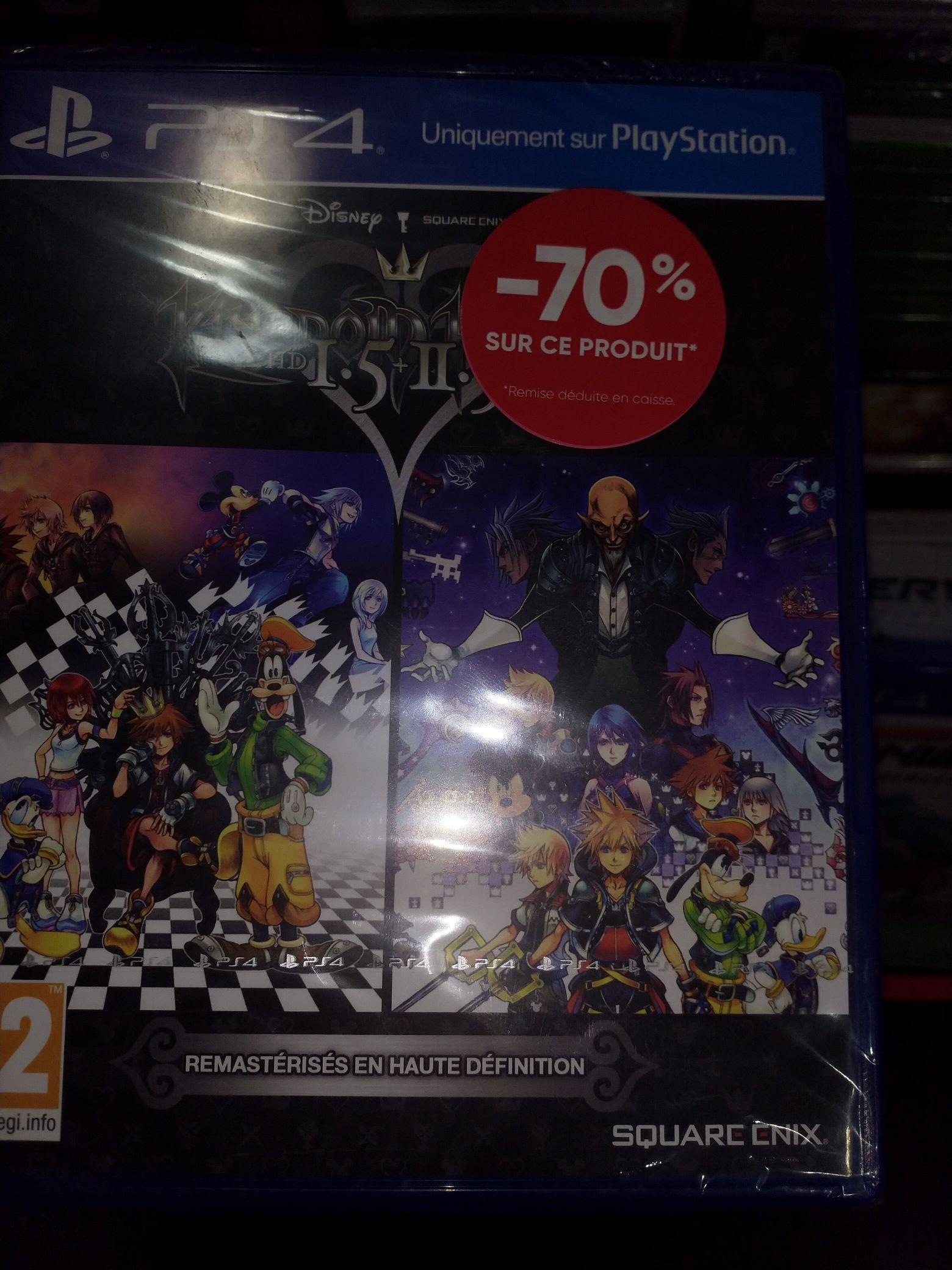 Kingdom Hearts HD I.5 + II.5 ReMIX sur PS4 - Cannes (06)