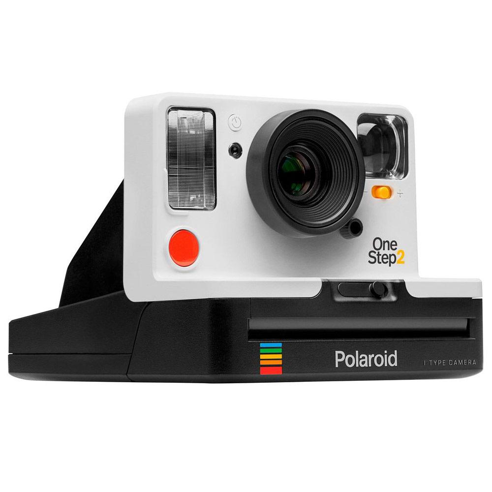 Appareil photo instantané Polaroid OneStep 2 avec flash et retardateur - Blanc