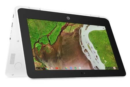 """Ordinateur portable Hybride 11.6"""" HP Chromebook X360 11-AE104NF - 32Go, 4Go de Ram"""