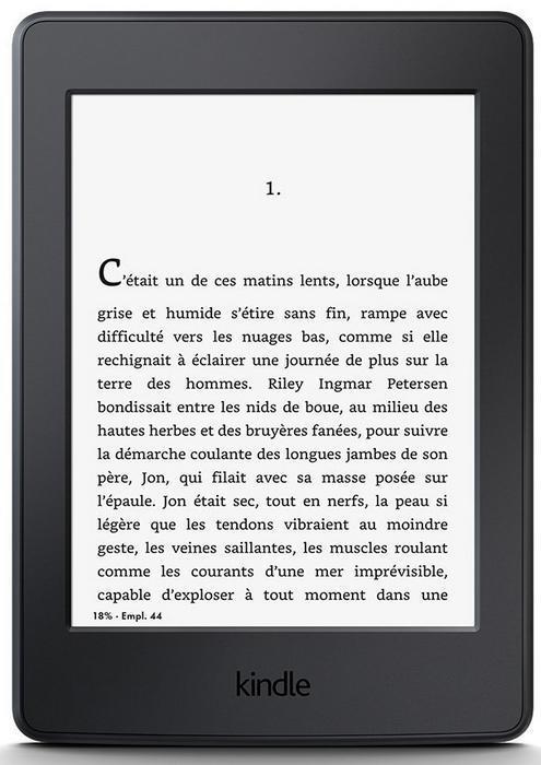 "Kindle 6"" paperwhite - Wi-Fi"