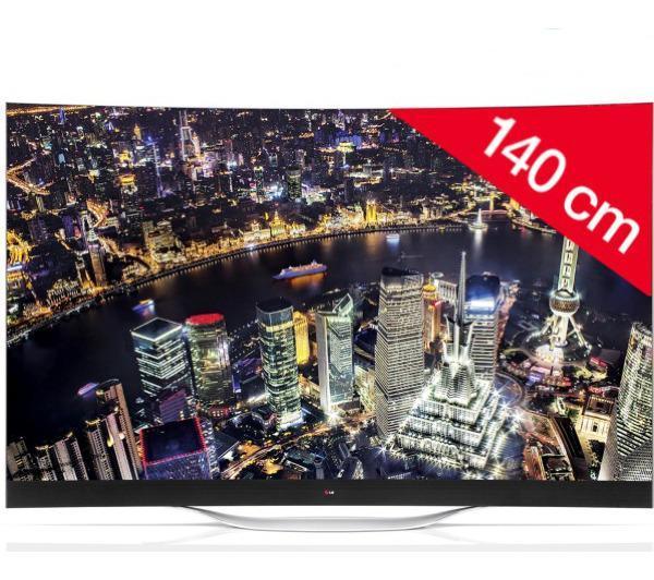 """TV 55"""" LG 55EC930V - OLED incurvé - 3D - Smart TV (ODR 500€)"""