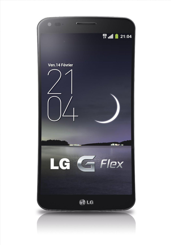 """Smartphone 6"""" LG G Flex Smartphone 4G débloqué - 32 Go  Noir"""