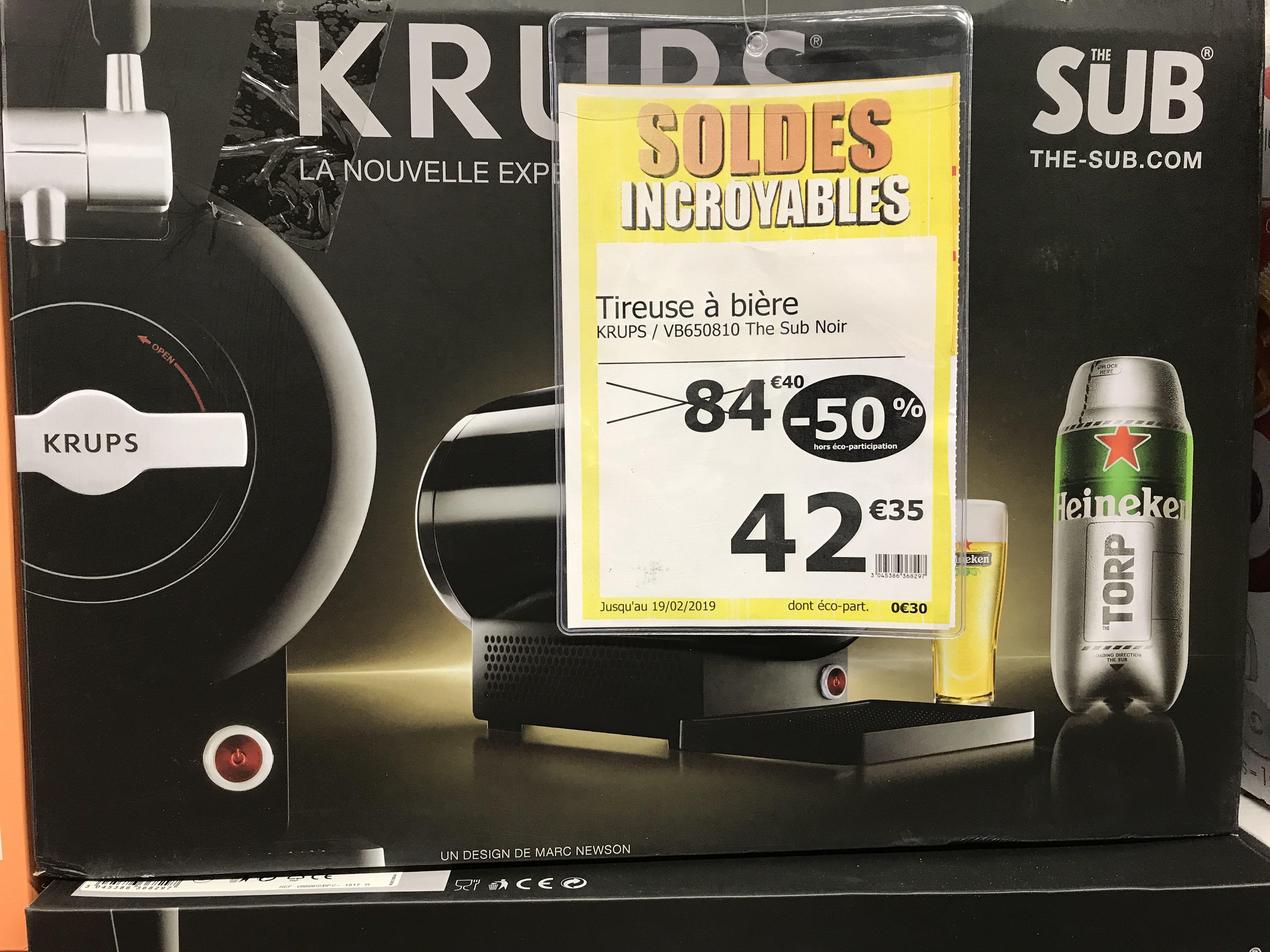 Tireuse à bière Krups - The Sub à  Créteil Pompadour (94)