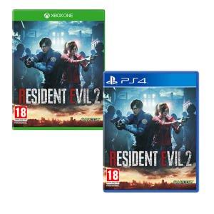 Jeu Resident Evil 2 sur PS4 et Xbox One (Via 3€ sur la Carte Fidélité)