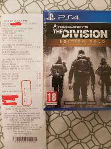 Tom Clancy's The Division - Édition Gold sur PS4 (Flins-sur-Seine 78)