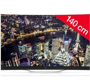 "TV 55"" LG 55EC930V - OLED incurvé - 3D - Smart TV (ODR 500€)"