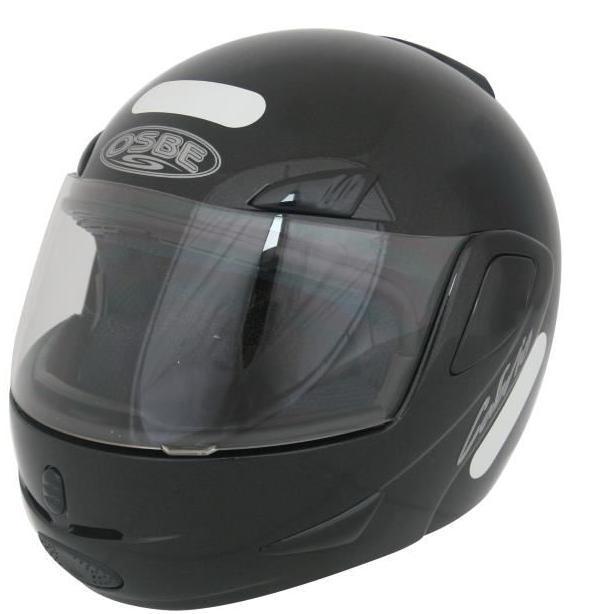 Casque Moto TTP Modulable Noir (Disponible dans toutes les tailles)